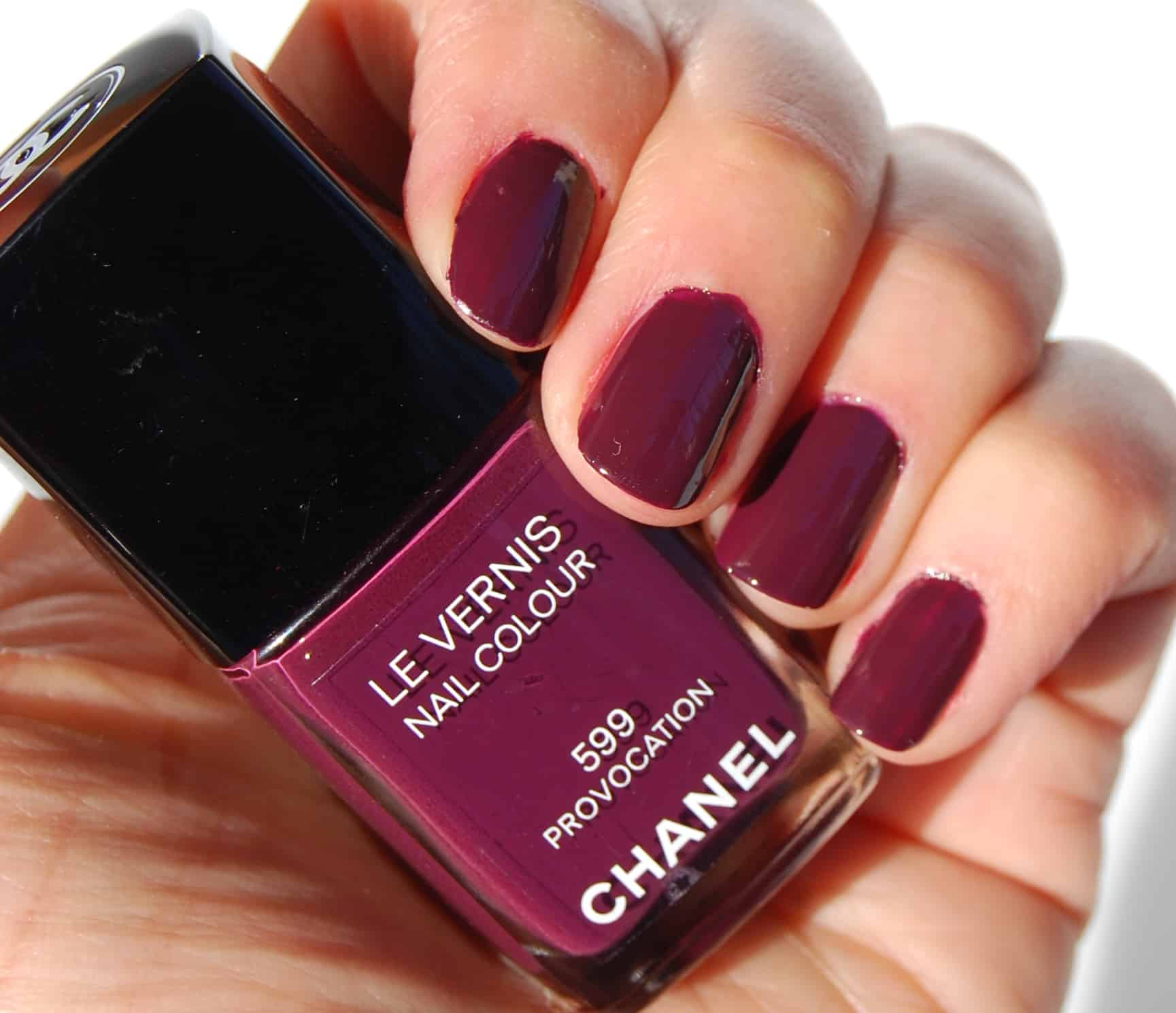 Chanel Nail Polish in Provocation 599: Review, Pictures and Swatches ...